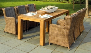 Moderno, sedia, tavolo, mobili