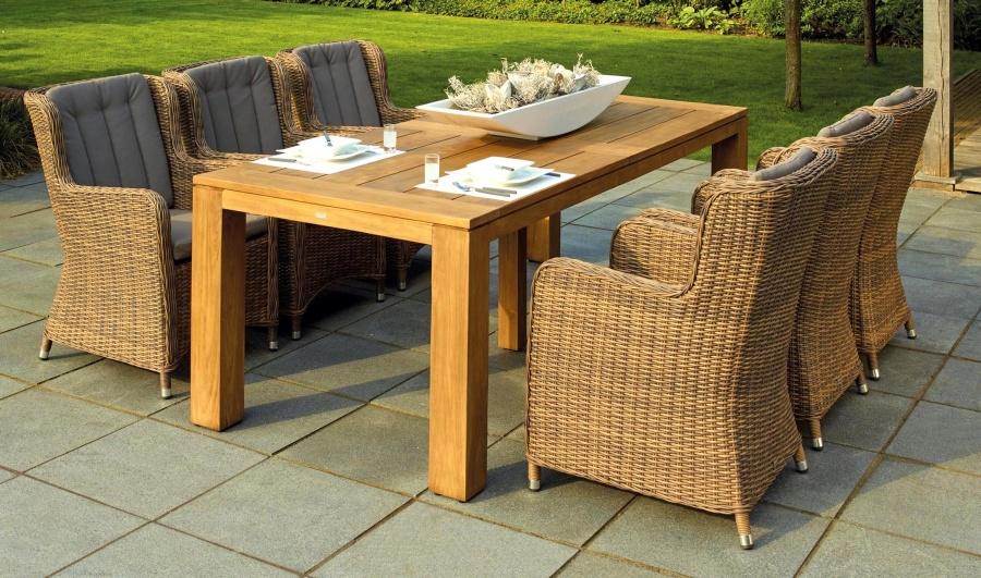Moderno, silla, mesa, muebles