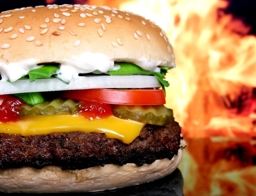 hamburger, sendvič, hrana, dijeta, hamburger, cheeseburger, sendvič