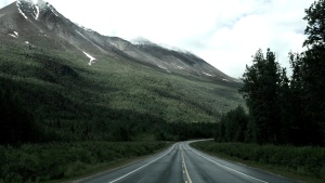 road, mountains, road, way
