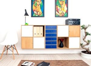 Pièce, meuble, intérieur, moderne, maison