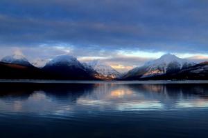 море, планина, пейзаж, небе, вода, море