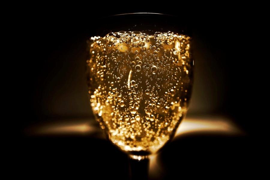 Boisson, verre, boisson, fête, fête