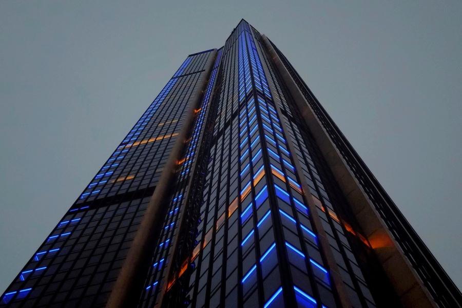 塔、塔、高、建筑、城市、建筑、城市
