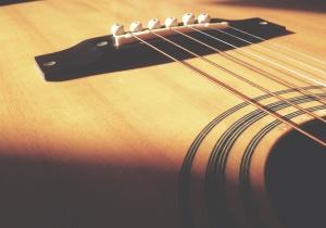 dřevo, kytara, hudba, nástroje, umění, objekt, zvuk