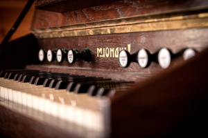wood, music, instrument, piano