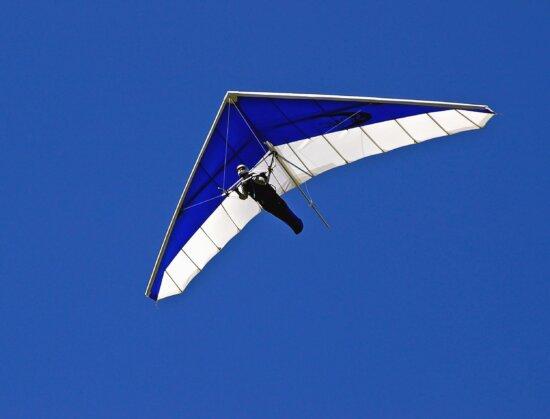 повітря повісити ковзаючи, екстремальний вид спорту, людина, вітру, небо, політ,