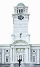 tower, clock, history, architecture, facade, building