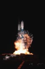 raket, plads, lancering, røg, ild, forskning