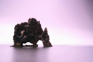 more, stijene, otok, biljke, voda