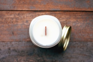 wick, candle, boxe, board, table