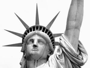 statue, liberty, sculpture, memorial, art, architecture