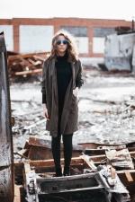 jakna, djevojka, odjeća, sunčane naočale, manekenka