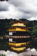 Azija, odraz, vode, jezera, kuća, planine, stabla, biljke