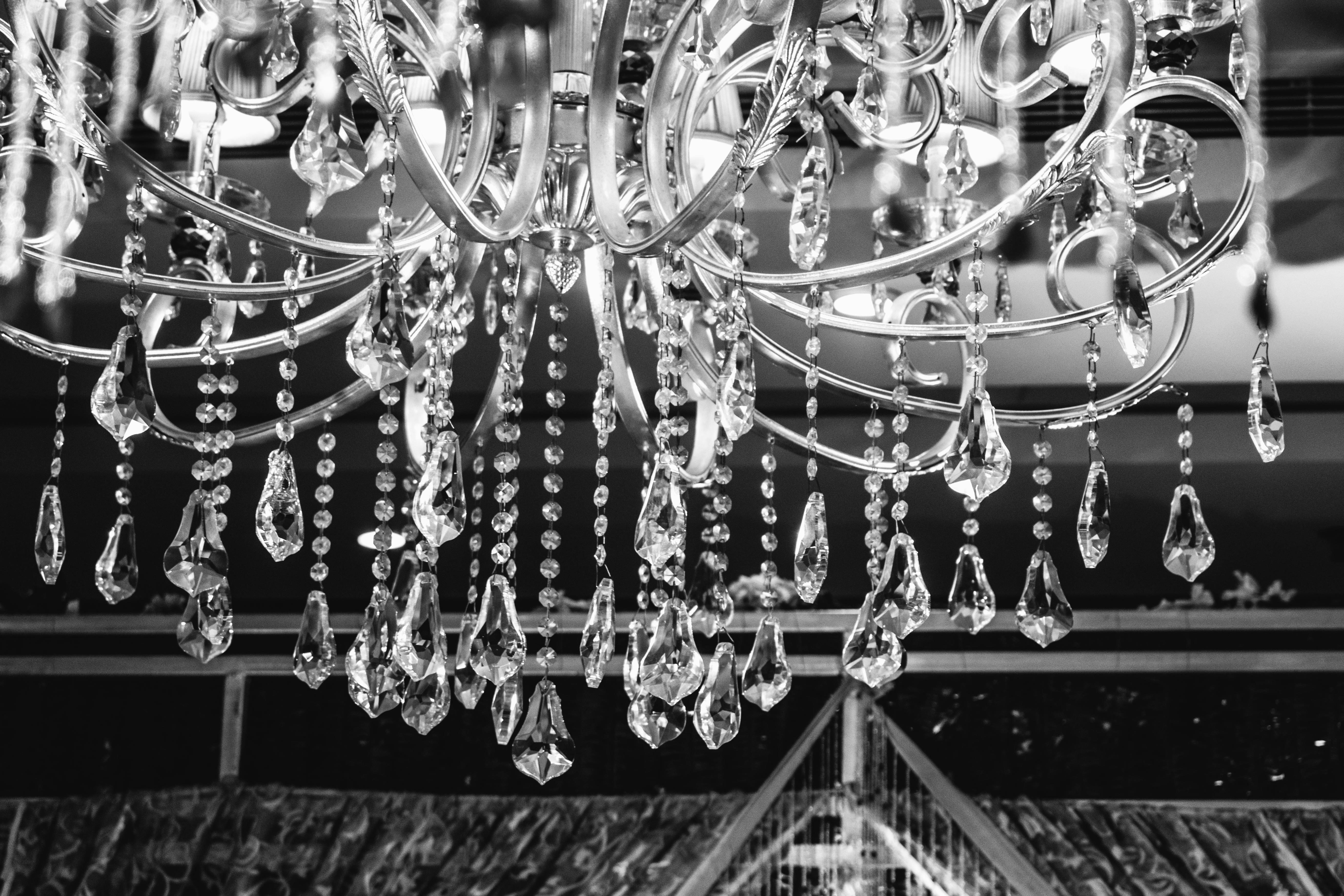 Free picture chandelier crystal ceiling luxurious light