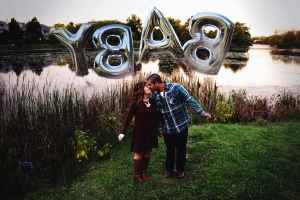 mand, kvinde, kiss, kærlighed, sukkerrør, søen, romance