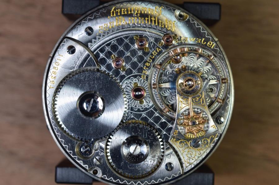 Image libre roue dent e m tal m canisme chrome horloge - Mecanismo para reloj de pared ...