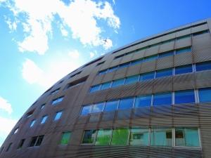 budova, okno, architektura, mrak, reflexe, stavebnictví