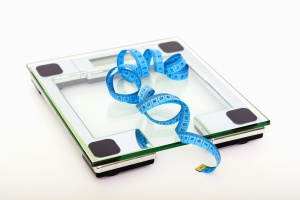 weight scale, tape measure, weight, volume, digital