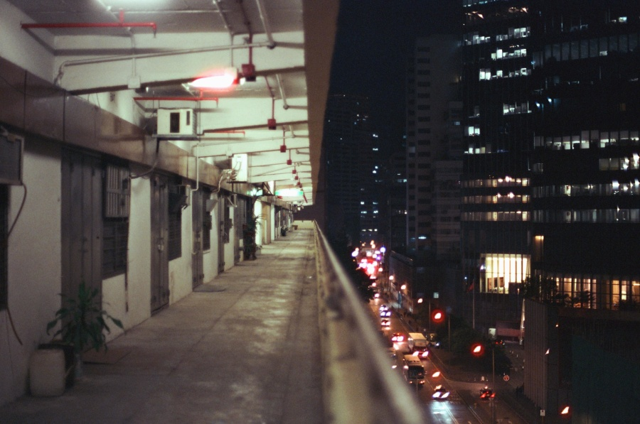 город, улица, освещение, автомобиль, автомобиль, асфальт, трафик