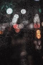 Luce, umido, pioggia, acqua, cerchio