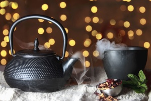 cup, drink, tea, breakfast, beverage, teapot, hot