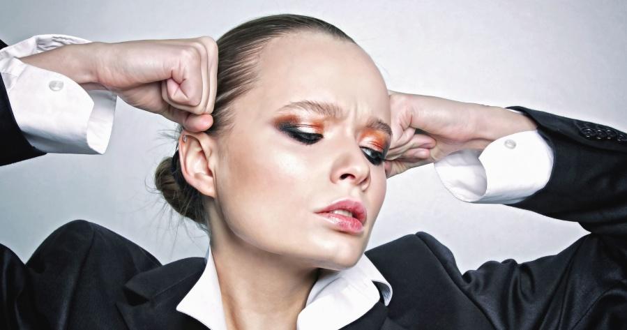 πορτρέτο, πρόσωπο, πρόσωπο, γυναίκα, μοντέλο, μακιγιάζ, θυμωμένος, κυρία