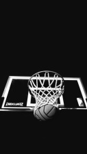 ball, board, hoop, basketball