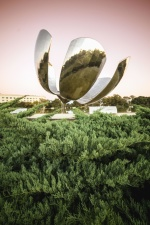 monument, metal, forest, memorial, art, building