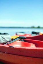 canoe, boat, water, kayak, vessel, sea, paddle, ocean, beach, travel, vacation, summer