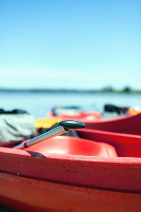 kanootti, vene, vettä, kajakki, aluksen, sea, mela, ocean, beach, matka, loma, kesä