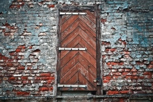 brick, wall, texture, surface, material, door