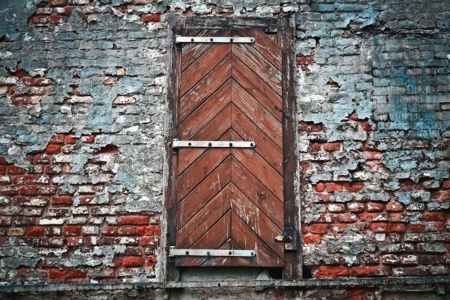Free Picture Brick Wall Texture Surface Material Door