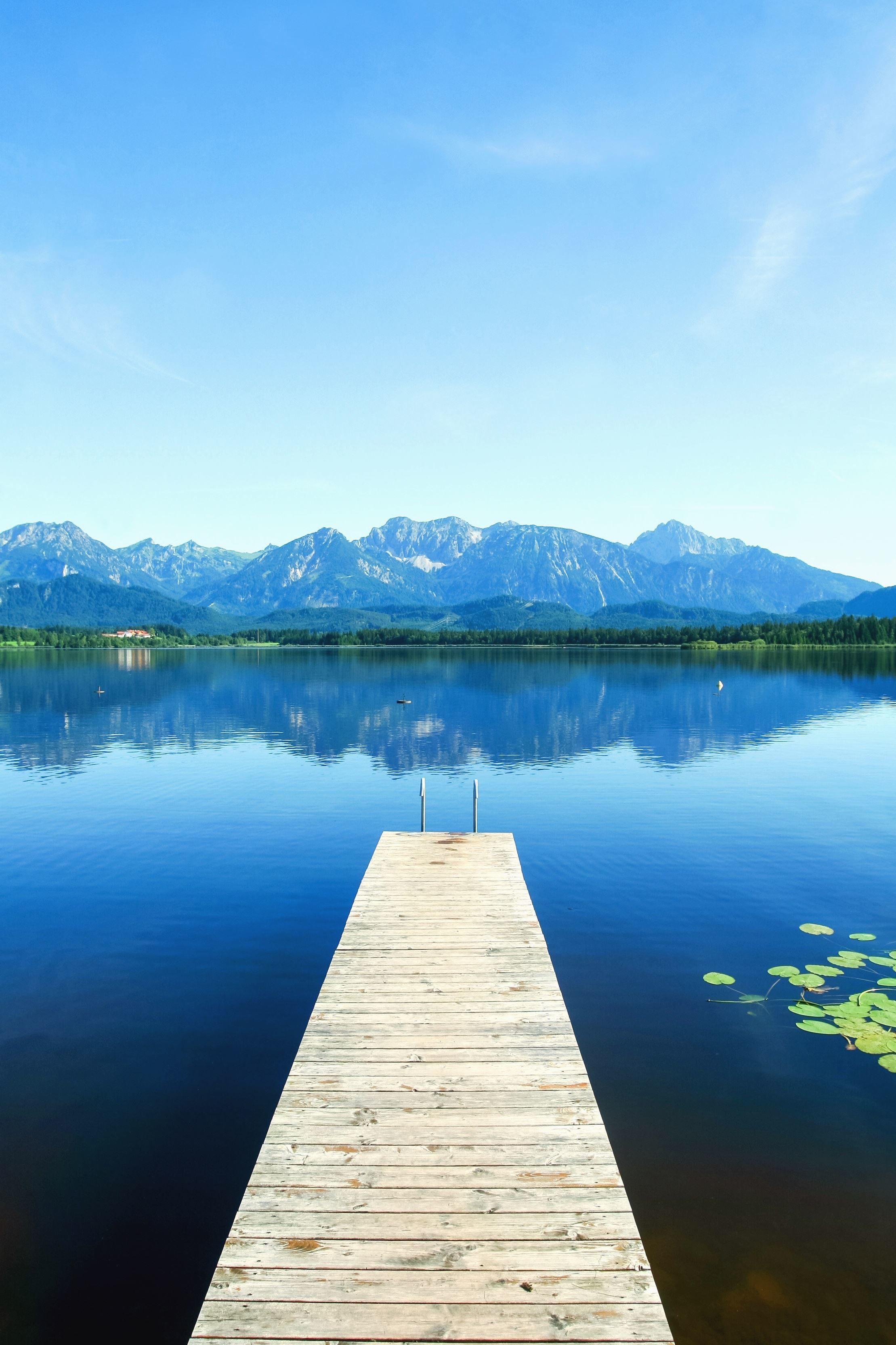 image libre  eau  lac  ciel  voyage  montagne   u00e9t u00e9