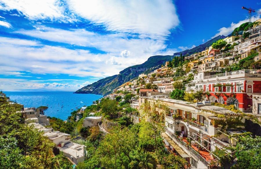 rejser, landskab, himmel, vand, turisme, arkitektur, sommer, hav