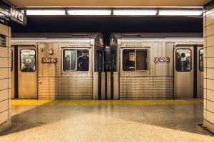 juna, vaunu, valo, subway, seinälaatat