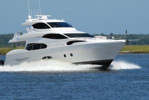 Yacht, meer, geschwindigkeit, welle, luxus, küste