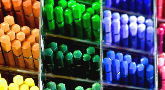 барвистою, box, Косметика, супермаркет