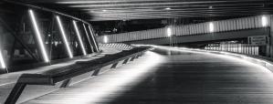 bänk, road, lysrör, strukturer, reflektion, asfalt