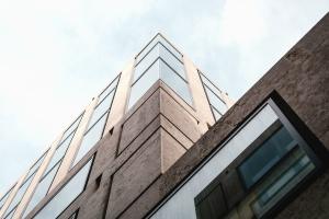 bygning, vindu, glass, arkitektur, kontor, urbane og moderne