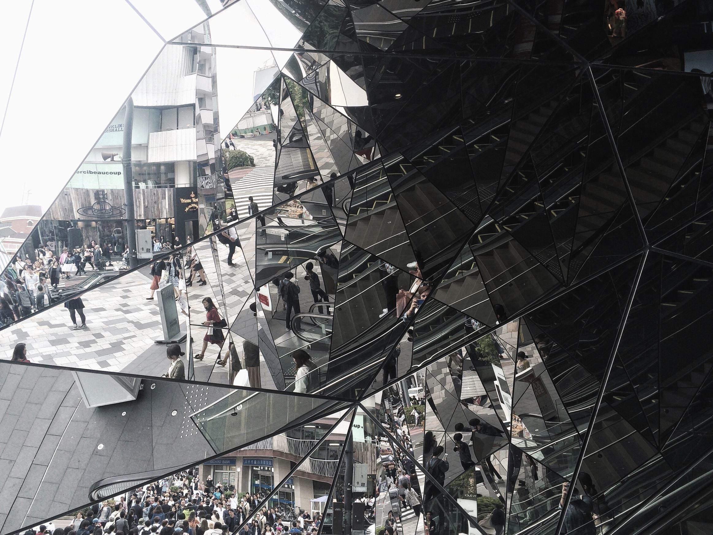 Spiegel Treppen kostenlose bild straße leute mann frau spiegel reflexion wand