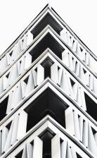 budovanie, architektúra, moderné, fasády