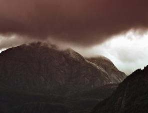 mountain, cloud, forest, rocks, nature, landscape