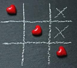 heart, love, game logic