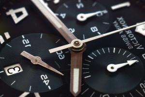 Hand, Stunde, Minute, Mechanismus, Metall, Uhr
