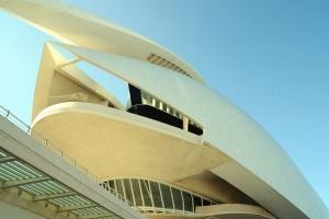 moderne, arkitektur, bygningen, glass, gjerde