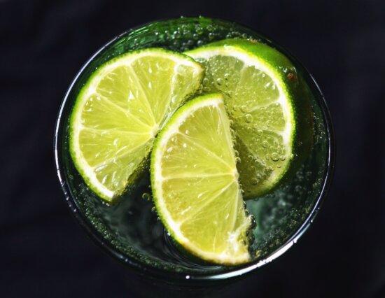 lemon, water, glass, drink, refreshment, fruit
