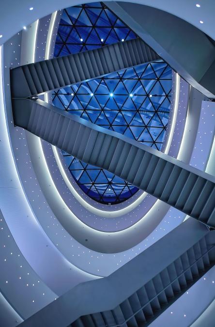 Kostenlose bild treppen glas interieur architektur - Treppen architektur ...