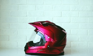 helmet, head, glass, carbon, motorcycles, brick, wall