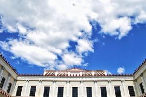 небе, сграда, история, архитектура, прозореца, фасада